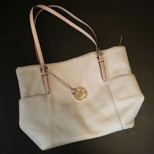 Michael Kors Cream Leather purse